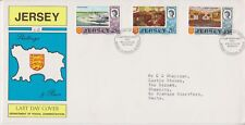 Jersey Last Day Cover 1972 Definitive issue 2/6 - 10/- 10% off 5