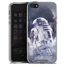 Apple iPhone 5 Silikon Hülle Case - R2D2 - Star Wars 8