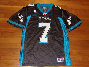 PHILADELPHIA SOUL TONY GRAZIANI AFL FOOTBALL JERSEY MENS SMALL EXCELLENT