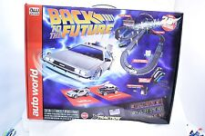 AW AUTO WORLD SRS297 20' BACK TO THE FUTURE 2 SLOT CAR RACE SET  1/EA SRS297
