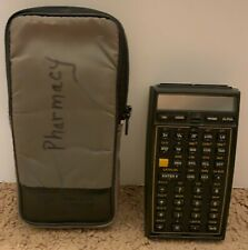 LOOK! Working HP 41-CV Calculator and Nylon Carrying Case NR!