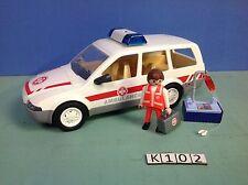 (K102) playmobil ambulance voiture ref 4223 4221 4222