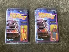 Back To The Future 2 Future Marty Future Doc Figures In Protech Star Cases Mint