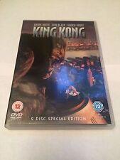 King Kong (DVD, 2-Disc Set) special edition, jack black, naomi watts, uk dvd