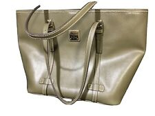 Dooney & Bourke Large East West Leather Shopper Olive VGC