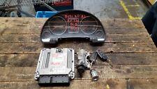 AUDI A4 B7 2005-08 2.0 TDI BLB AUTO ENGINE CONTROL ECU KIT CLOCK KEY 03G906016AL