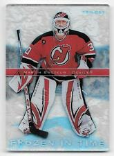 06/07 Upper Deck Trilogy Frozen In Time #FT11 Martin Brodeur #098/999