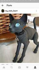 """BJD Anthro Eve The Cat """"Oriental"""" 10cm w/Cutsom Faceup"""