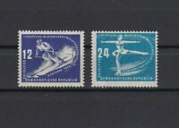 germany ddr 1950 mint never hinged winter sports stamps ref r13312