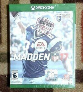 Madden NFL 17 (Microsoft Xbox One, 2016) Brand New