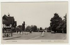 SURREY, OLD COULSDON, STREET SCENE & WAR MEMORIAL, RP