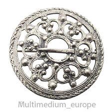 Silber Brosche keltisch Schild celtic viking er clasp fibula silver brooch ❀☺❀