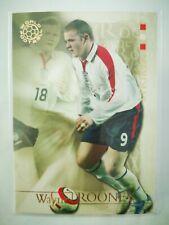 Futera 2004 world football carte card soccer England Wayne Rooney #57