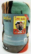Archie Comics Life with Archie Plush Throw Blanket 48x60 by Loungefly Riverdale