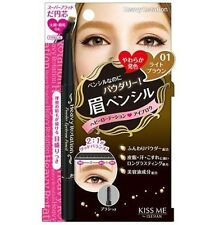 [ISEHANN KISS ME] Heavy Rotation 01 LIGHT BROWN Powder Oval Tip Eyebrow Pencil