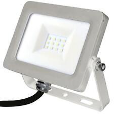 10W Slim LED Floodlight, 800 Lumens, 6000K - PRO ELEC
