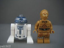 Lego Figurines Minifigs Star Wars - R2-D2 & C-3PO Neufs New / Set 75136