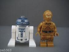 Lego Figurines Minifigs Star Wars - R2-D2 & C-3PO Neufs New / Set 75136