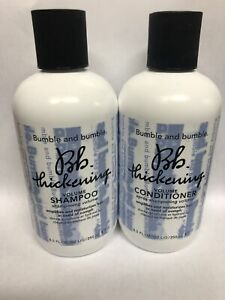 Bumble and Bumble Thickening VOLUME Shampoo & Conditioner 8 Oz Duo Set