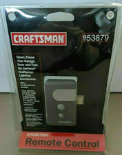 Craftsman 953879 3 Function Garage Door Remote Control New