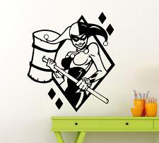 Harley Quinn Wall Decal Vinyl Sticker Comics Superheroes Art Decor Mural 172su