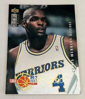 1994-95 Collector's Choice Gold Signature #200 CHRIS WEBBER Warriors
