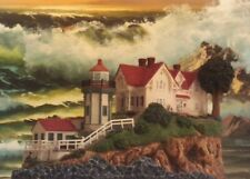 """Lighthouse - """"Yerba Buena"""" Calif #639 Harbour Lights """"2001 Event Exclusive"""""""