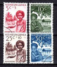 Dutch New Guinea - 1957 Child care - Mi. 45-48  VFU