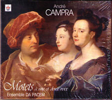 Andre Campra 1660-1744 motets ensemble car pacem Arion CD pierre-Adrien Charpy