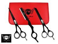 Salon Professional Barber Hair Cutting Thinning Scissor Hairdressing Shears Set