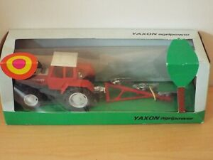 Tractor Ma-6210 Estonia 1985 Damage Blister Box Red Black EDICOLA 1:43 AFRTR111