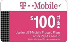 T-Mobile Prepaid Refill Card $100 (Direct Refill)