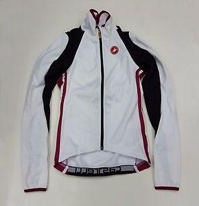 Castelli Winter Women's Cycling Pazza Windproof Jacket White Size XS