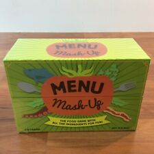 Menu Mash-Up: The Food Game With All the Ingredients for Fun - Sealed