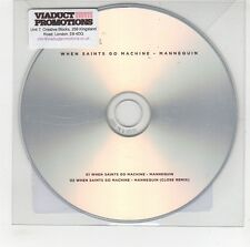 (GG682) When Saints Go Machine, Mannequin - 2013 DJ CD