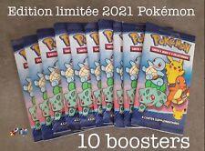 Lot X10 Booster NEUF Pokemon 25 Ans Carte Macdo Macdonald's 2021 Édition Limitée