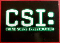 CSI - SEASON THREE - COMPLETE BASE SET (72 cards) - Strictly Ink