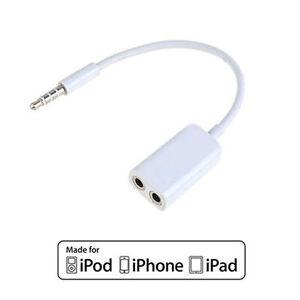 3.5mm AUX Multi Headphone Splitter For Apple iPad & iPhone