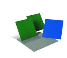 Lego losas de Construcción juego 4 placas grande 9286 verde gris azul Educación