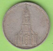 5 rico mark 1934 g garnisonskirche muy bonito nswleipzig