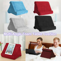 Tablet Pillow Foam Cushion Holder Sofa Book Reading Stand For iPad Multi-Angle