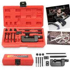 DID Style Motorcycle Heavy Duty Chain Riveter Breaker Splitter Riveting Tool Kit