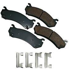 Disc Brake Pad Set-ProACT Ultra Premium Ceramic Pads Rear,Front Akebono ACT785