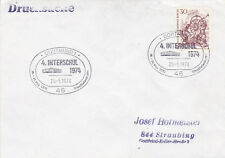 West Berlin 1974 Dortmund 4th Interschul Fair Cover VGC