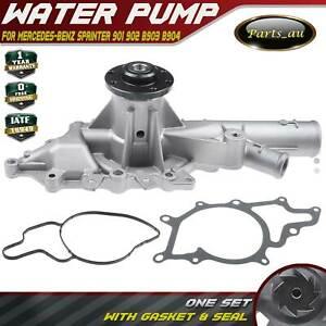 1x Water Pump for Benz Sprinter 2T 3T 4T 901 902 B903 B904 2000-2006 2.1L Diesel