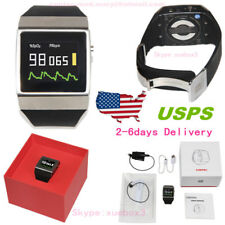 Bluetooth OLED Wrist Color Pulse Oximeter with probe pedometer Sporting Wireless