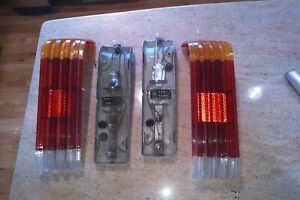 Mercedes 450sl R107 tail light assemblies left and right complete 1972-1980  NR