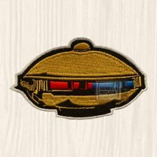 Power Rangers Alpha 5 Patch TV Serie Mighty Morphin Zordon Zeo Turbo Embroidered