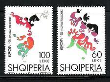 SELLOS TEMA EUROPA 1998 ALBANIA 2v.