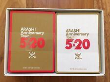 ARASHI Anniversary Tour 5x20 Official Goods-KARUTA Playing Card(NEW)